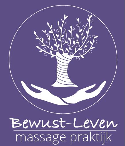 Volledig logo massagepraktijk Bewust leven