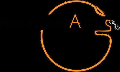 Logo Hondenschool Amthos